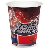 WWE 9 oz. Paper Cups