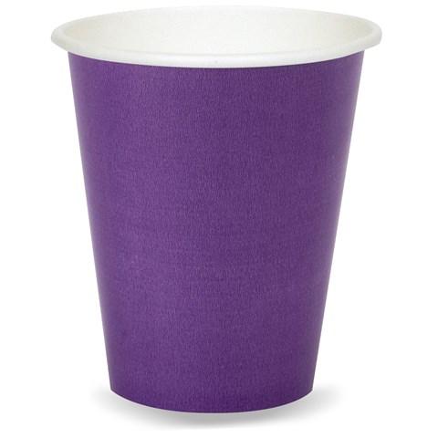 Perfect Purple (Purple) 9 oz. Paper Cups (8)