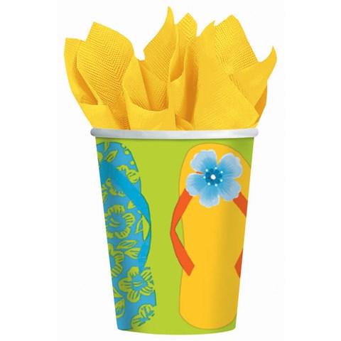 Flip Flop 9 oz. Paper Cups