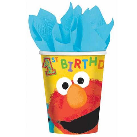 Sesame Street 1st Birthday - 9 oz. Paper Cups