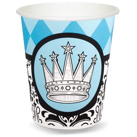 Elegant Prince Damask 9 oz. Paper Cups