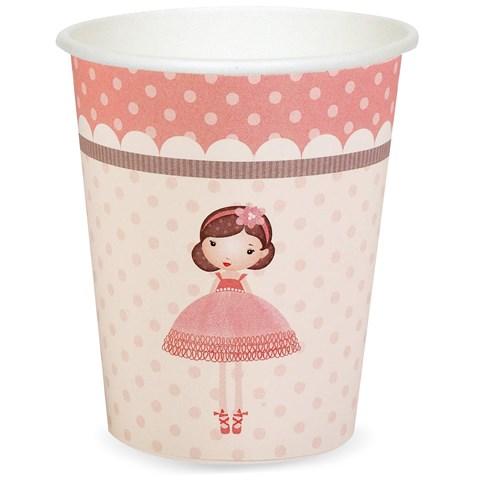 Ballerina Tutu 9 oz. Paper Cups