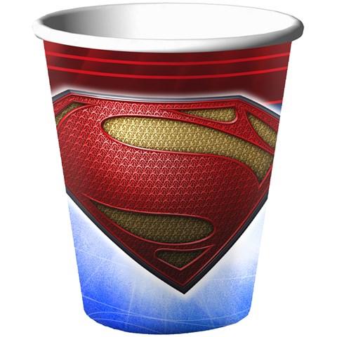Superman: Man of Steel 9 oz. Paper Cups