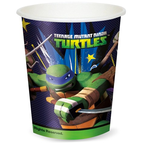 Nickelodeon Teenage Mutant Ninja Turtles 9 oz. Paper Cups (8)