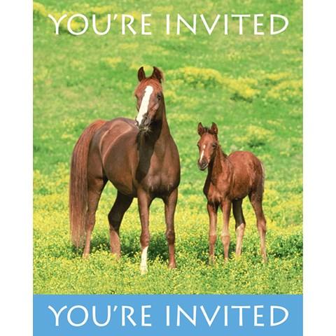 Wild Horses Invitations