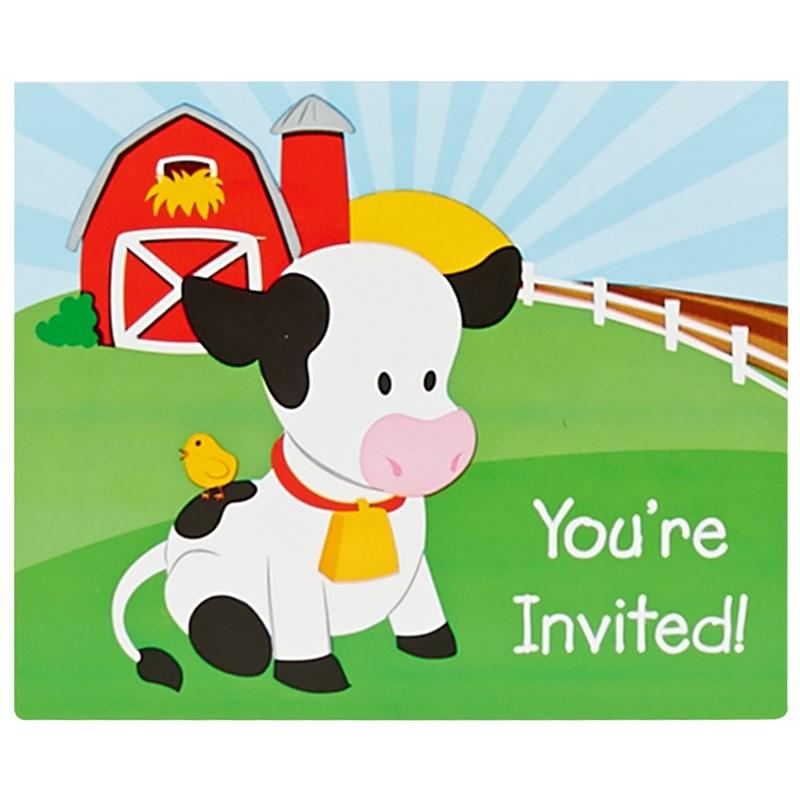 Barnyard Invitations