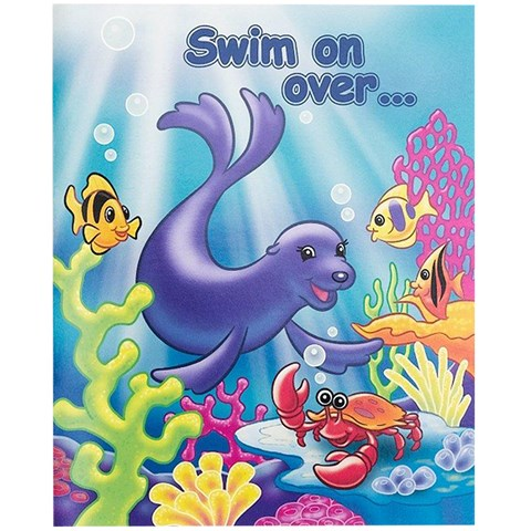 Sea Life Invitations