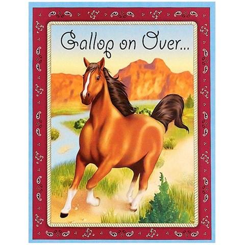 Horse Power Invitations