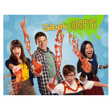 Glee Invitations