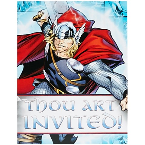 Thor: The Mighty Avenger Invitations