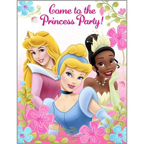 Disney Fanciful Princess Invitations