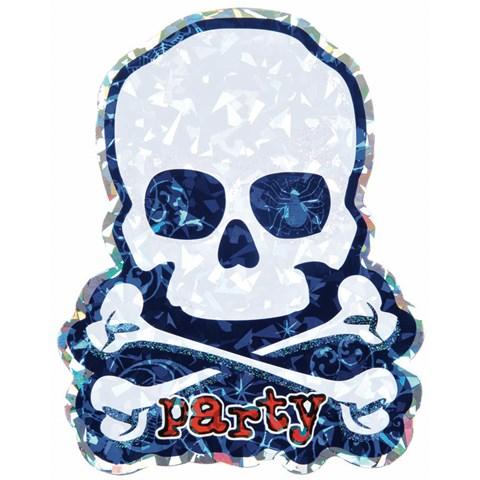 Jumbo Skull Invitations