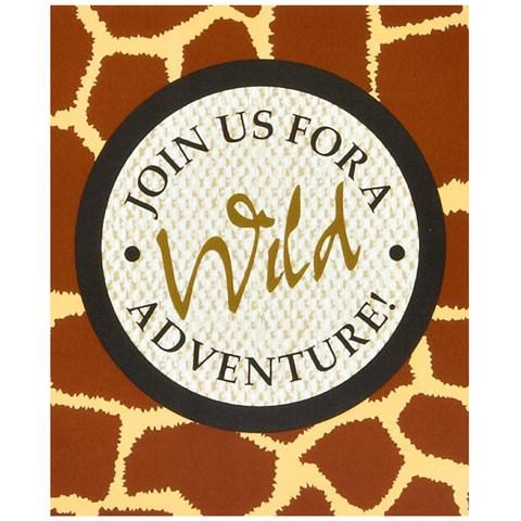 Safari Adventure Party Invitations
