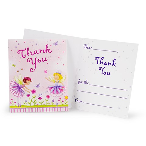 Garden Fairy Thank-You Notes
