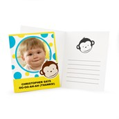 Mod Monkey Personalized Thank-You Notes