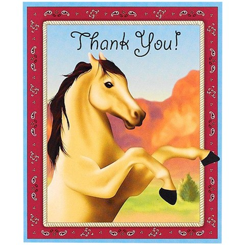 Horse Power Thank-You Notes