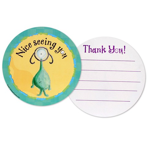 Lil' Monsters Thank-You Notes
