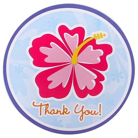 Hawaiian Girl Thank-You Notes
