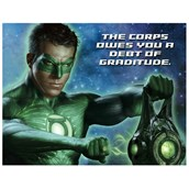 Green Lantern Thank-You Notes
