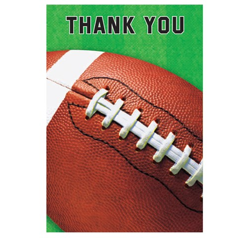 Football Fan Thank-You Notes