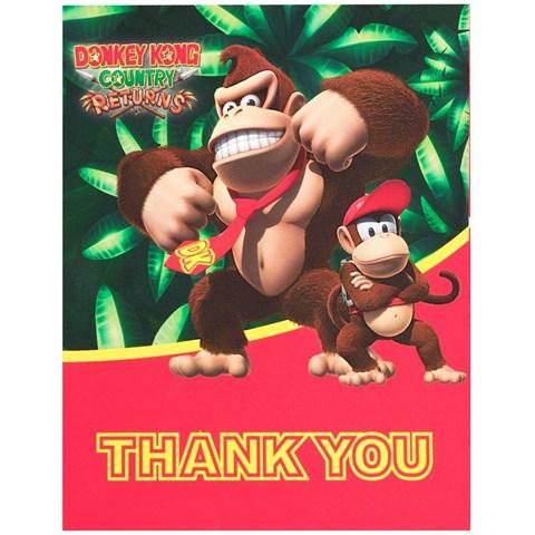 Donkey Kong Thank-You Notes