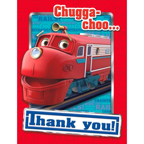 Chuggington Thank-You Notes