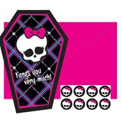 Monster High Thank-You Notes