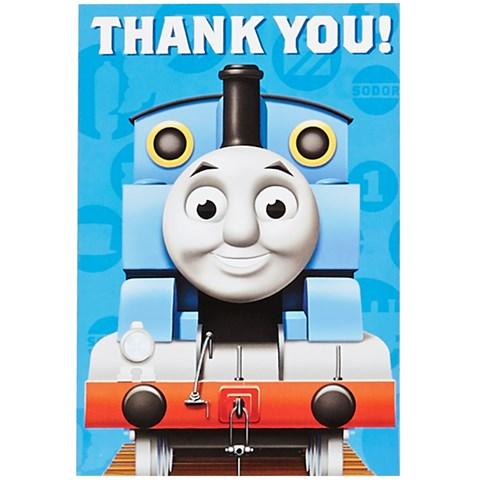 Thomas the Tank Thank-You Notes