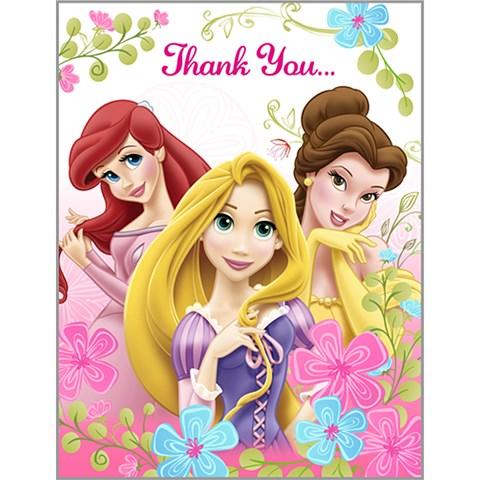 Disney Fanciful Princess Thank-You Notes