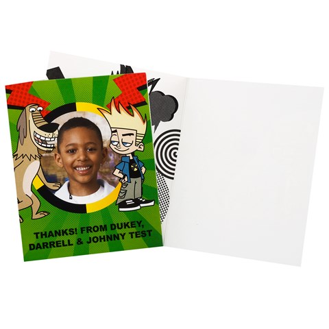 Johnny Test Personalized Thank-You Notes