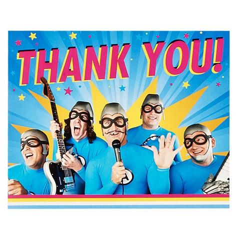 The Aquabats! Supershow! 3D Thank-You Notes