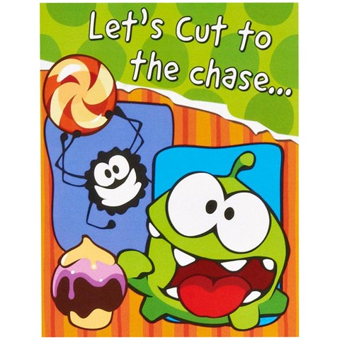 Cut the Rope Thank-You Notes