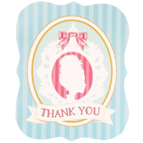 Let Them Eat Cake Thank-You Notes