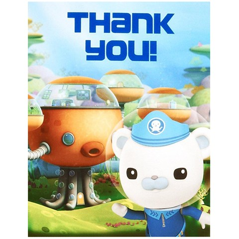 The Octonauts Thank-You Notes