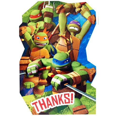 Teenage Mutant Ninja Turtles Thank-You Notes