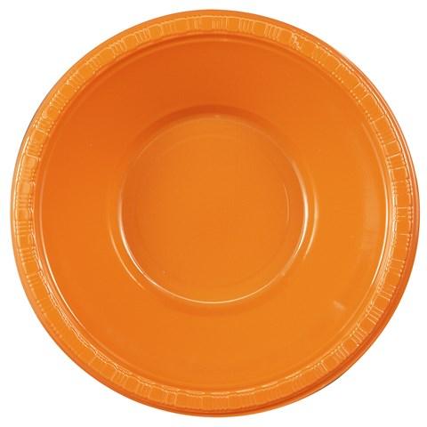 Sunkissed Orange (Orange) Plastic Bowls