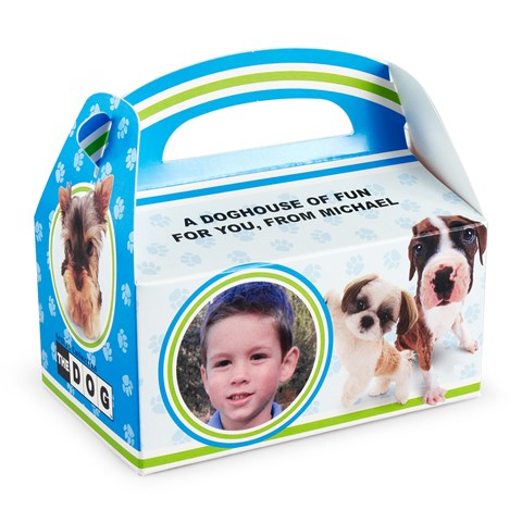 THE DOG Personalized Empty Favor Boxes