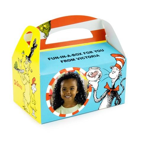 Dr. Seuss Personalized Empty Favor Boxes