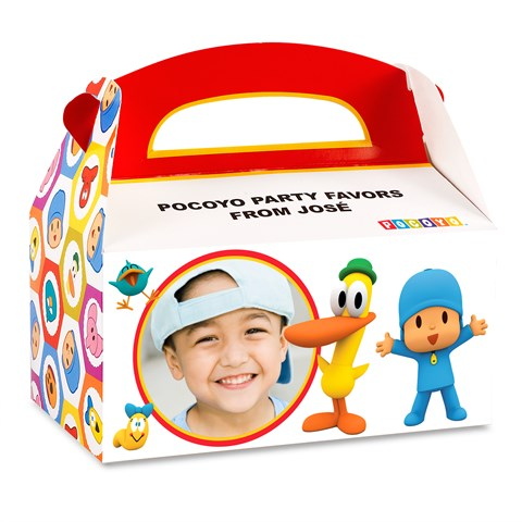 Pocoyo Personalized Empty Favor Boxes