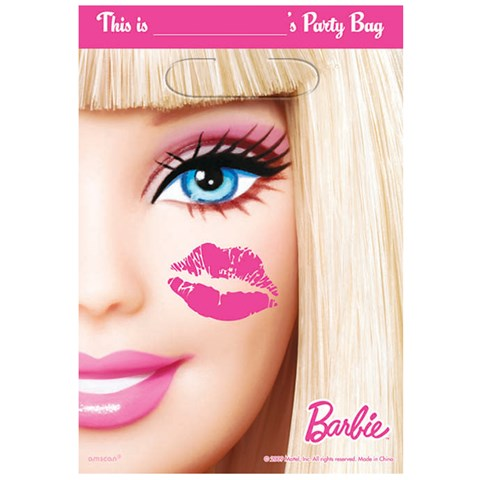 Barbie All Doll'd Up Treat Bags