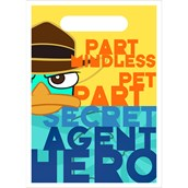 Disney Phineas and Ferb Agent P Treat Bags