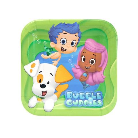 Bubble Guppies Dessert Plates