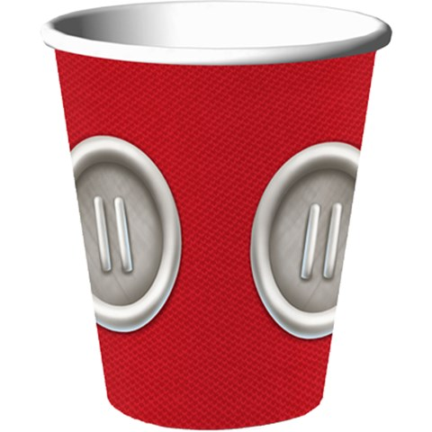 Disney Mickey Playtime 9 oz. Paper Cups (8)