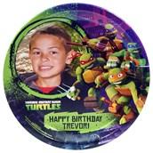Nickelodeon Teenage Mutant Ninja Turtles - Personalized Dinner Plates (8)