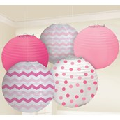 Pink Chevron & Dot Decorating Kit