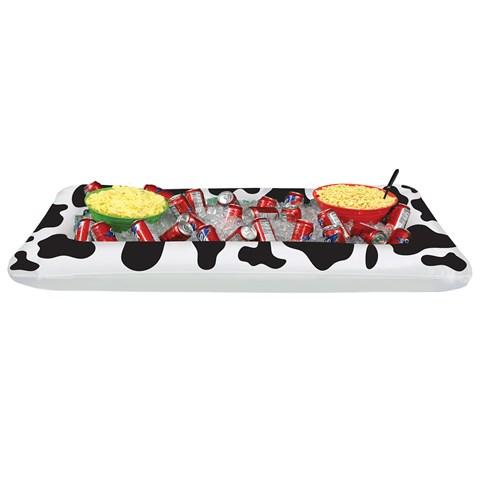 Cow Print Buffet  Cooler