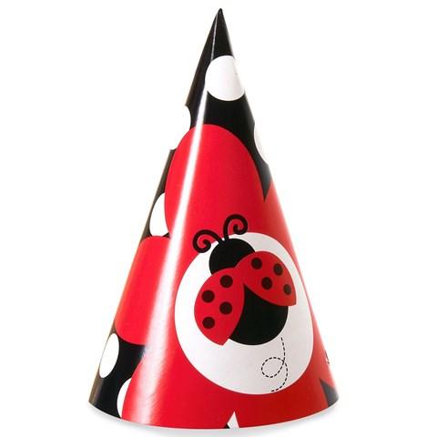 LadyBug Fancy Cone Hats