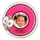 Look Whoo's 1 Pink Personalized