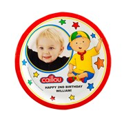 Caillou Personalized Plate