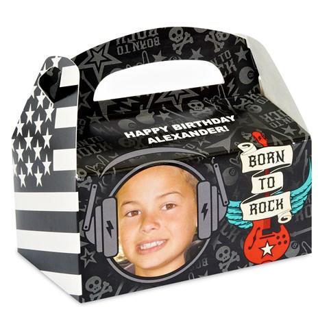 Born to Rock - Personalized Empty Favor Box